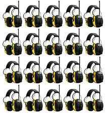 (20) PELTOR WORKTUNES Digital AM FM MP3 Radio HEADPHONES Hearing Ear PROTECTION
