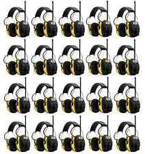 (20) PELTOR WORKTUNES Digital AM FM MP3 Radio HEADPHONES Hearing Ear PROTECTION