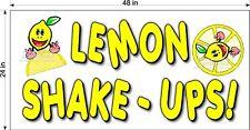 2 X 4 Vinyl Banner Lemon Shake Ups Lemonade Drink
