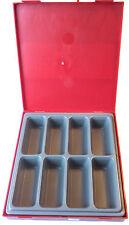 TENG herramientas ttd01 piezas/compatible Caja de Bandeja almacenamiento with 8