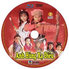 ANH HUNG XA DIEU 1994 - Phim Bo Hong Kong TVB Blu-Ray - US LONG TIENG