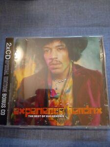 JIMI HENDRIX - EXPERIENCE HENDRIX THE BEST OF. DOUBLE CD
