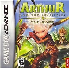 Arthur and the Invisibles (Nintendo Game Boy Advance, 2007) New and Sealed