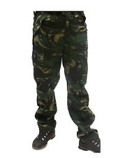 Blue Castle Mens Cargo Pockets Camouflage Camo Army Combat Trousers *FREE POST*