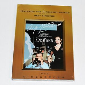 Alfred Hitchcock's Rear Window Collector's Edition James Stewart Grace Kelly New
