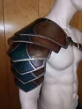 Leather Armor Ornate Sentinel 2 Shoulder Larp Cosplay