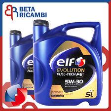 Olio motore Elf Evolution Full-Tech FE 5W30 10 Litri per motori Renault DPF FAP