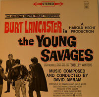 "East - Soundtrack - The Young Savages - David Amram 12 "" LP (L817)"