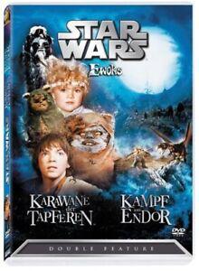 Star Wars - Ewoks  * DVD * Karawane der Tapferen, Kampf um Ender -Double Feature
