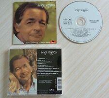 RARE CD ALBUM J'T'AIMERAIS - REGGIANI SERGE 11 TITRES 2000 5438722