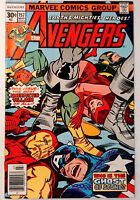 Avengers #157 Marvel 1977 VF Bronze Age Comic Book 1st Print