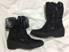 Pavers Size 6, Eu 39, Ankle Boots, Snow Boot, Fur Cuff, Can Be Worn 2 Ways.