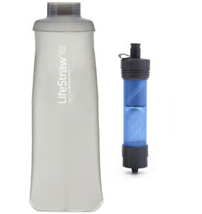 LifeStraw Flex Multi-use Water Filter with Soft Touch Bottle Reduces Lead