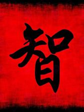PAINTING CHINESE CALLIGRAPHY WISDOM SYMBOL ART PRINT POSTER MP5219A