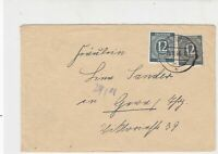 Germany 1946 Allied Occupation to Thuringia Gorlitz Cancel Stamps Cover rf 23225
