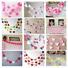 High 1m Heart Paper Garland Banner Bunting Drop Baby Shower Wedding Party Decor