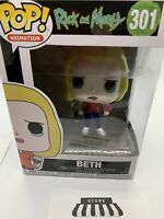 Rick and Morty #301 - Beth with Wine Glass - Funko Pop! Animation (Brand New)