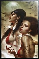 🚨🔥 SACRED SIX #2 LUCIO PARRILLO Limited Virgin Variant Dynamite Vampirella NM