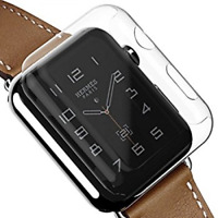 Apple Watch Series 3 Screen Protector iWatch 42mm Cover Bumper Case Protection *