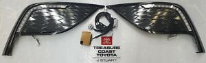 NEW OEM TOYOTA CAMRY XSE 2021 & UP LED ACCENT LIGHTING GLOSS BLACK BEZELS
