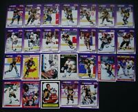 1991-92 Score American Pittsburgh Penguins Team Set of 26 Hockey Cards