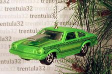 '74 CHEVY VEGA PRO STOCK DRAGSTER 1974 CHEVROLET GREEN CHRISTMAS ORNAMENT XMAS