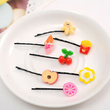 5x Charming Fashion Girls Hairpin Hair Clip Accessories Fruit & Vegetable Style