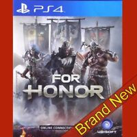 FOR HONOR - PlayStation 4 PS4 ~18+ Action/Adventure ~ Brand New & Sealed !!