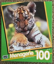 """NEW & SEALED * Rose Art Brand Over 100 Piece Menagerie """" Little Tiger"""" Puzzle *"""