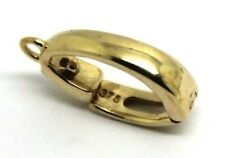9ct Yellow gold Large 14mm Pearl Enhancer Bail Clasp express post in oz