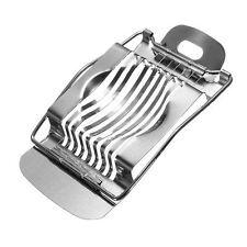 Formaggio Uovo Cutter Affettatrice Wedger tutti in acciaio inox 1 argento Heavy Duty