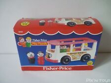 Fisher-Price Vintage 1987 / FP Play Family Minibus Mini Van 0141