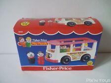 Fisher-Price Vintage 1987 / FP Play Family Minibus Mini Van 0141