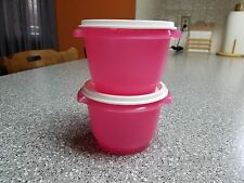 Tupperware Set of 2, 2 Cup Servalier Bowls, NEW