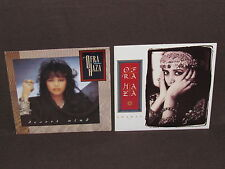 OFRA HAZA 2 LP RECORD ALBUMS LOT COLLECTION Shaday & Desert Wind