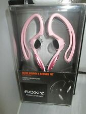 Sony MDR-J10 Lt. Pink Over the Ear Headphones Non-Slip Design  MDRJ10 Lt. Pink