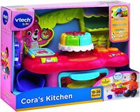 VTech Baby Cora's Kitchen, Cooking & Learning Interactive Responses Kids Toy