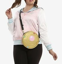 Sailor Moon Transformation Brooch Canteen Crossbody Bag and Tote Purse NWT!