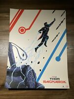 """Thor Ragnarok""Art Print Movie Poster By Doaly Mondo BNG XX/100 Unreleased"