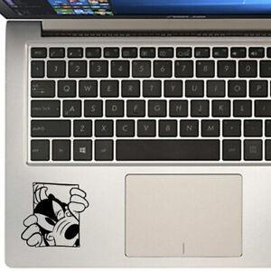 Goofy Peeping Disney Decal Sticker for Macbook Laptop Trackpad Cup Mug Bottle