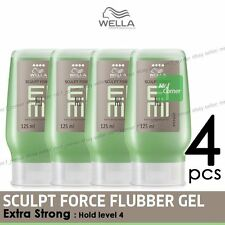 Wella Professionals Sculpt Force Extra Strong  Flubber Gel 125ml 4pcs
