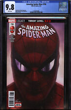 Amazing Spider-man #796 CGC 9.8 NM/M 1st Print Osborn joins w Carnage Red Globin