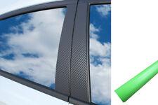 6x PREMIUM A B C COLUMNA Puerta Listones Película Auto Kit verde claro mate