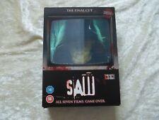 SAW THE FINAL CUT COLLECTION 7 DVD BOX SET REG 2 LIONSGATE LGD94395