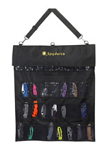 Spyderco Large SpyderPac 30-Knife Carrying Case Black Polyester Cordura SP1