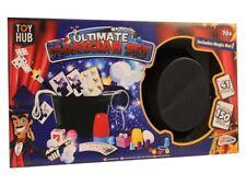 Ultimate Magic Set Kids 41 Piece Magician 150 Tricks Illusions Hat Rabbit Wand