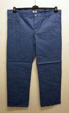Pantaloni da uomo in cotone blu
