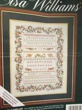"Secret Garden Sampler Cross Stitch Kit-Half Finished-14x18""/36x46cm-Elsa William"