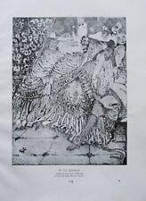 Paul Scheurich: Der Liebesbrief - Originaldruck aus 1931 Repro