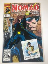Nomad #1 v2. | Bucky Barnes | Marvel Comics 1992 Nm | Fold Out Cover